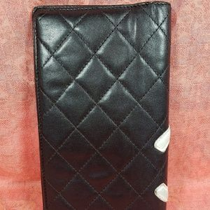 CHANEL Accessories - Authentic Chanel CC Logo Trifold Wallet